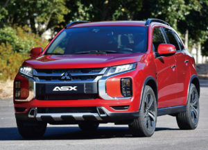Los medios de motor prueban el Mitsubishi ASX 2020