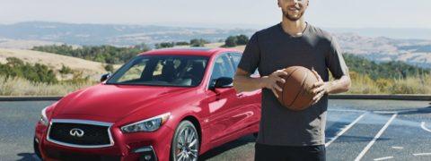 La estrella de baloncesto de la NBA Stephen Curry  nuevo embajador de Infiniti