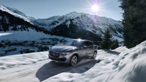 Al volante del nuevo SUV de Maserati