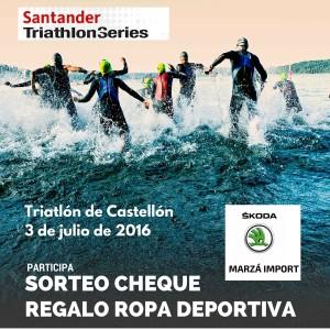 Sorteo Triatlón Castellón 2016