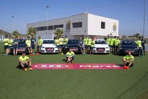 Marzá Audi colaborador oficial del Villarreal C.F