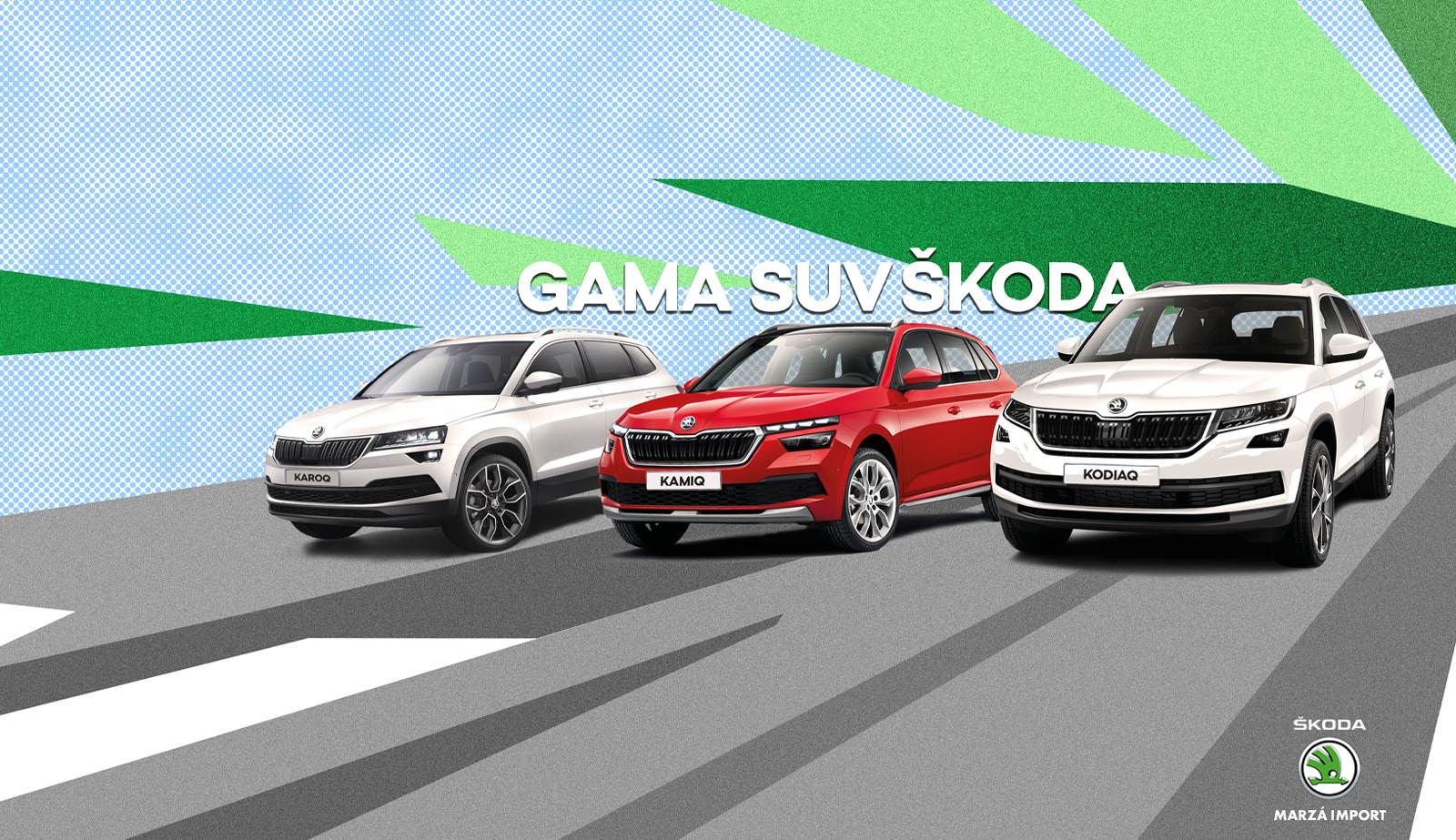 Gama SUV Skoda Marzá Import