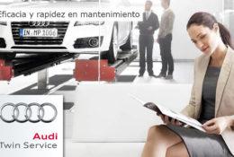 La calidad de Audi presente (de nuevo) en nuestro nuevo servicio 'Audi Twin Service'