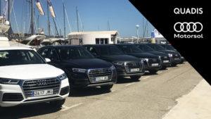 Éxito de la presentación del nuevo Audi Q5 en Port Balís