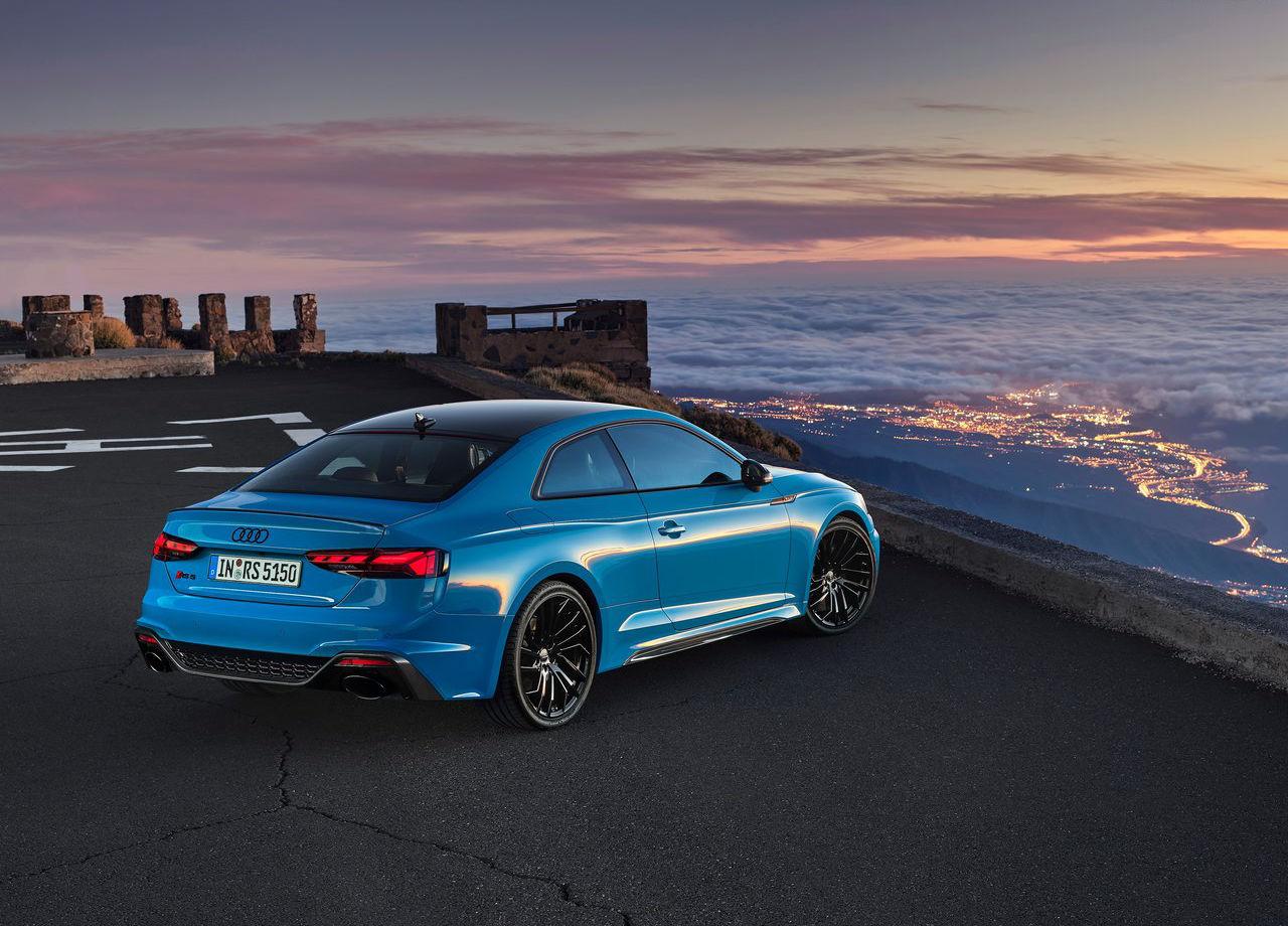 Nuevos Audi RS5 Coupé y Sportback, cambios estéticos y mejor equipamiento