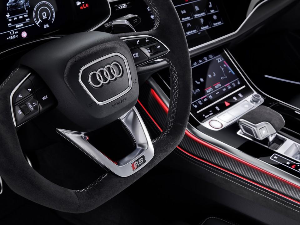 Así es el nuevo y colosal Audi RS Q8