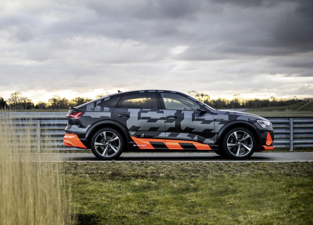 Nuevo Audi e-tron S Sportback: dinámico, ágil y eléctrico