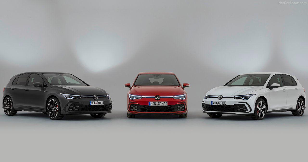 Nuevos Volkswagen Golf GTI y GTE, iconos digitalizados