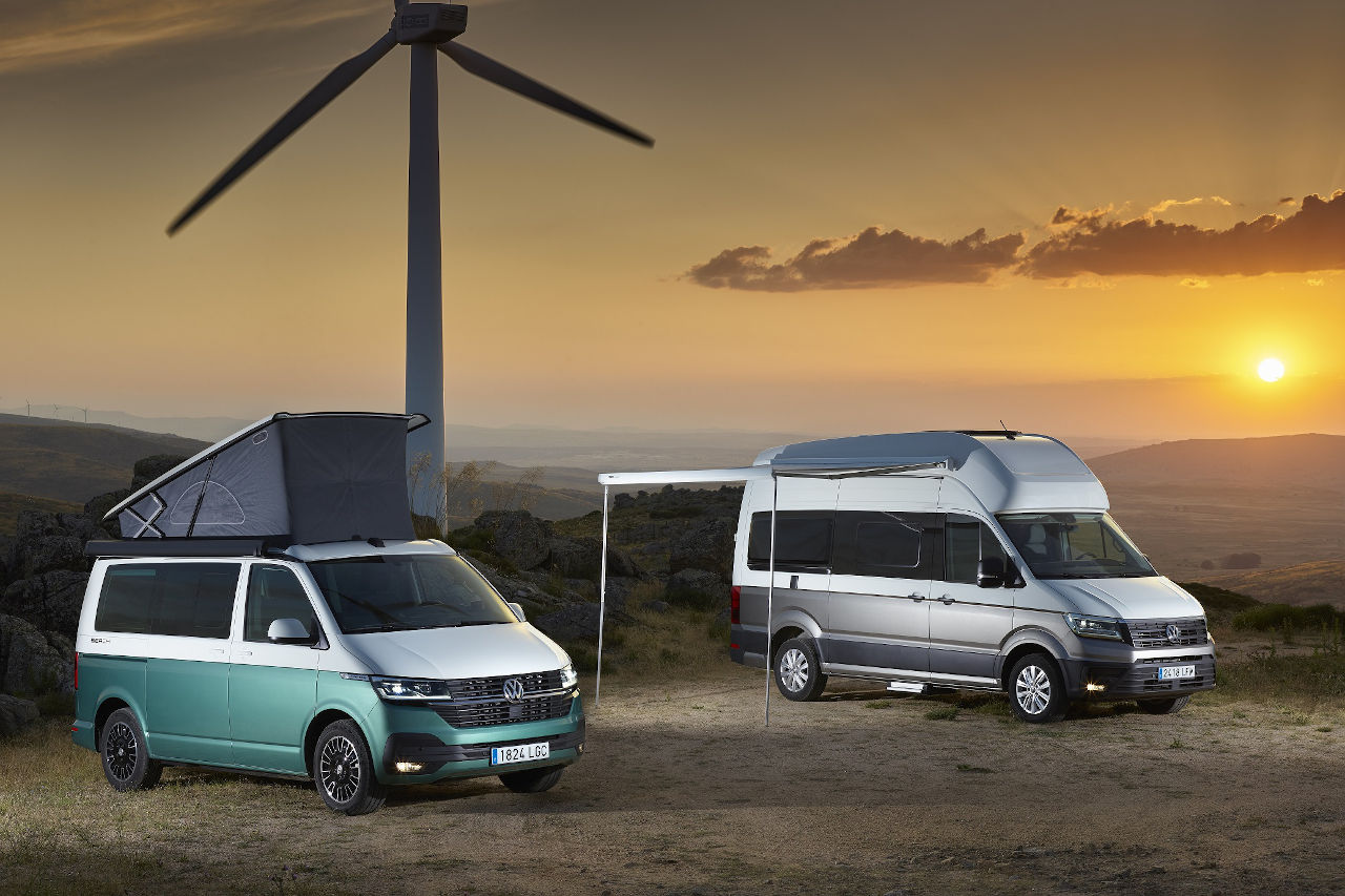 Nueva gama Camper de Volkswagen Vehículos Comerciales