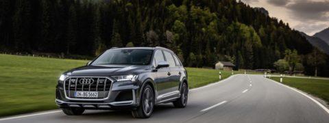 Los nuevos Audi SQ7 y Audi SQ8 estrenan un potente motor de gasolina V8 TFSI