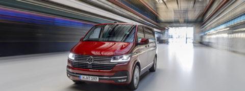 La nueva gama T6 de Volkswagen Vehículos Comerciales entra en la era digital