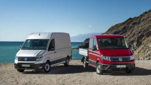 Volkswagen Crafter: robusto y tecnológico
