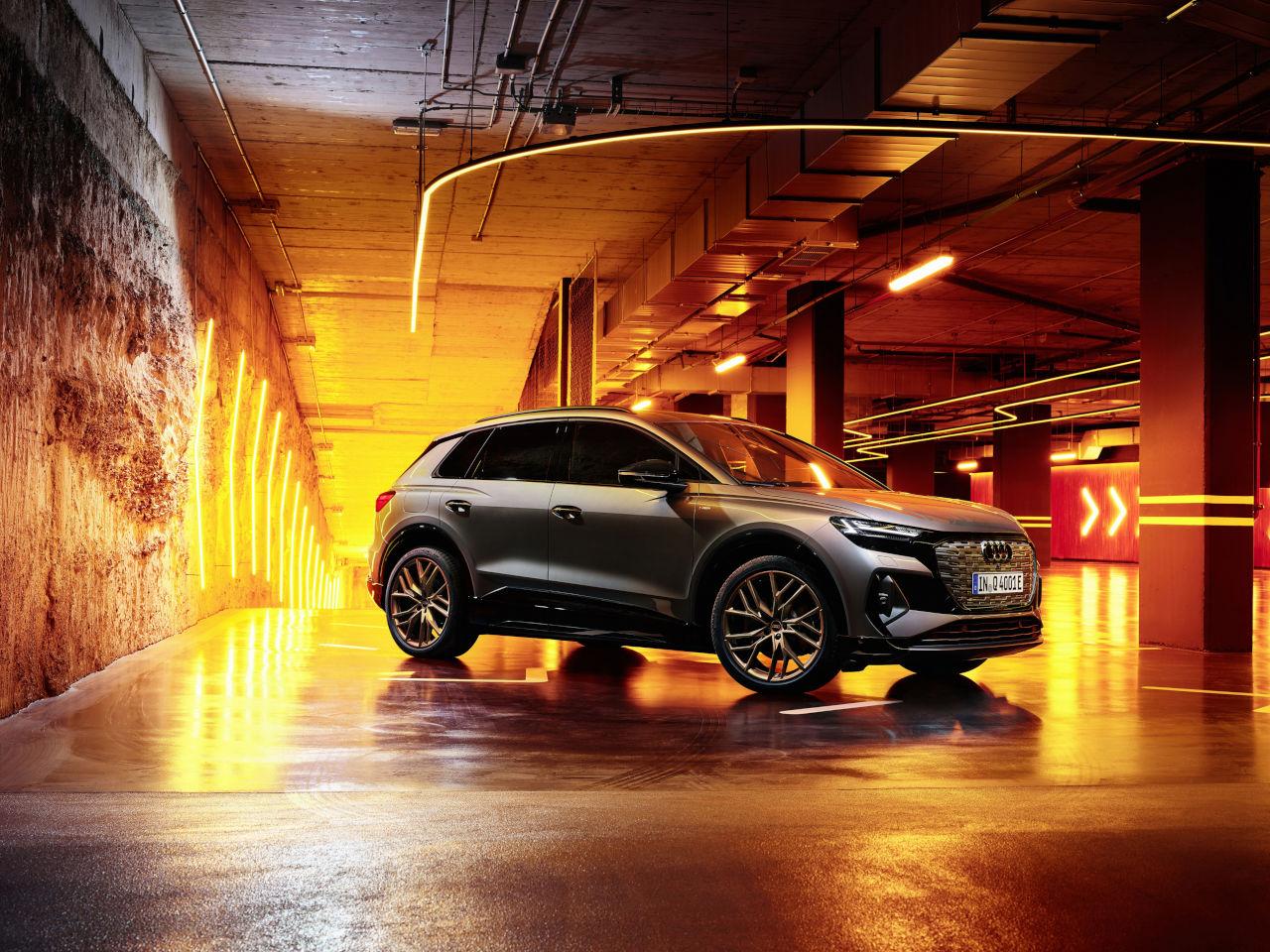 Ya está disponible el Q4 e-tron, el nuevo SUV compacto eléctrico de Audi