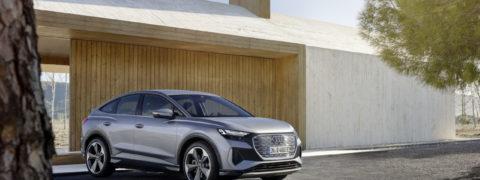 Lanzamiento en España del Audi Q4 Sportback e-tron, el SUV eléctrico más dinámico