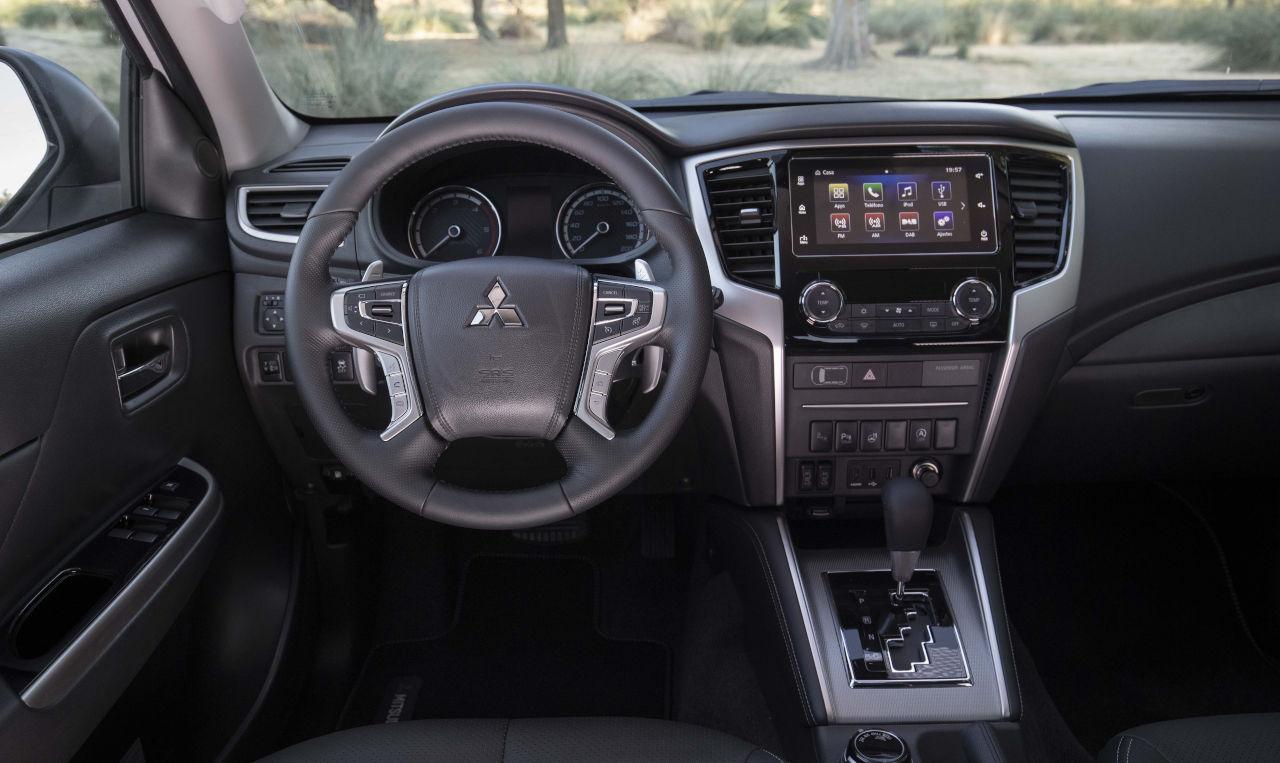 Mitsubishi L200: el confort de una berlina con el mejor sistema 4x4