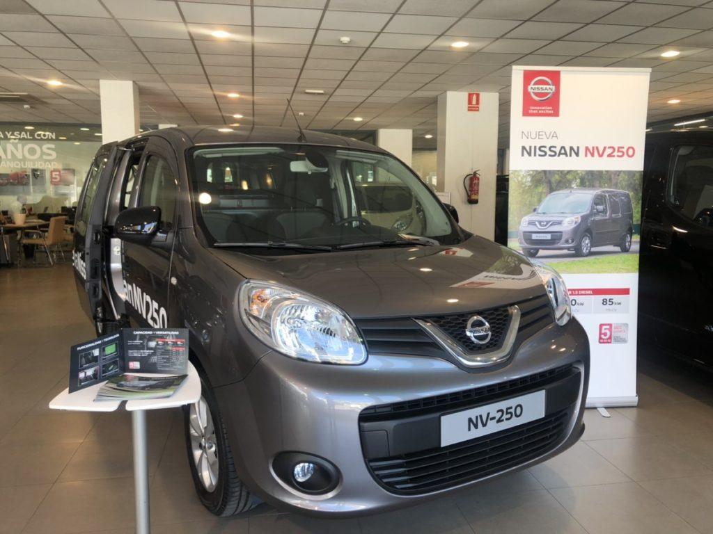 Motor Llansà presenta con éxito la nueva Nissan NV250