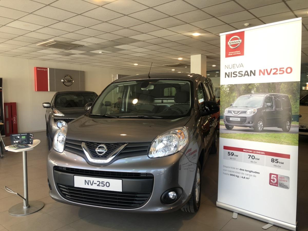 NV250 ROADSHOW 2019, el nuevo integrante de la gama de vehículos comerciales de Nissan