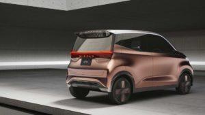 Nissan IMk concept: anticipando un futuro eléctrico