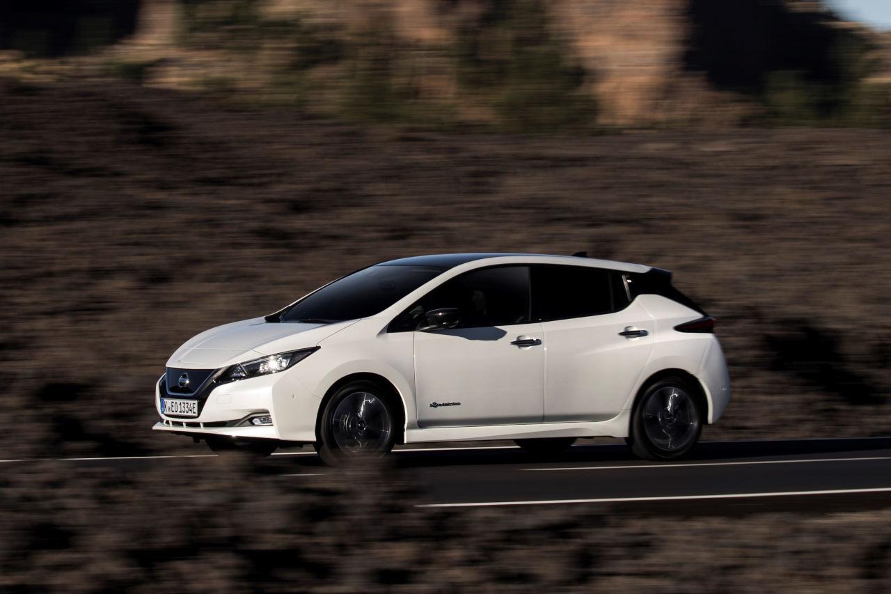 Ahorra hasta 7.000 euros en tu Nissan LEAF con el Plan MOVES III
