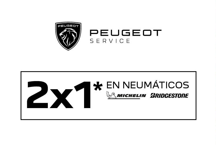 Oferta 2×1 en neumáticos Michelin y Bridgeston