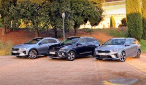 Comparativa: probamos los tres SUV PHEV de Kia