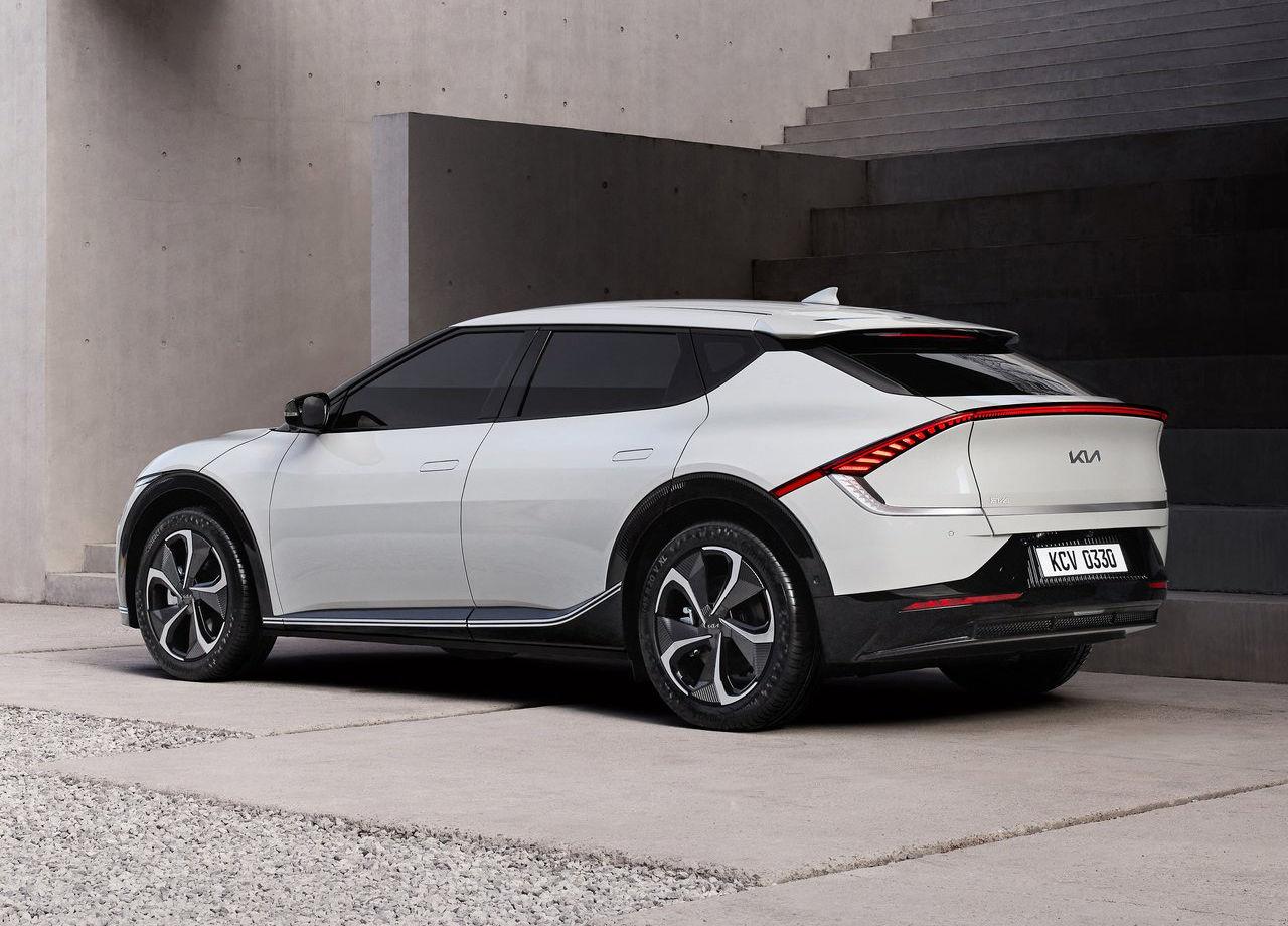 Primeras imágenes del nuevo EV6, el primer KIA exclusivamente eléctrico