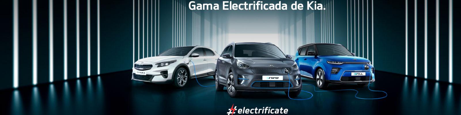 Gama electrificada de Kia